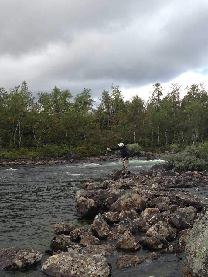 Fly Fishing Sweden For Brown Trout And Charoutside Days