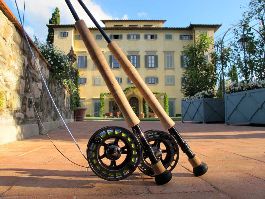 Rods-in-front-of-hotel